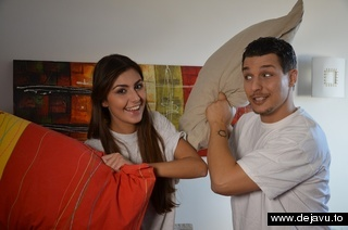 Alessandra Piscopo and Piero 'Ali' Passatore - Pillows